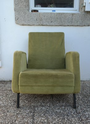 Marvelous Vintage French Lounge Chairs From Airborne Set Of 2 Pdpeps Interior Chair Design Pdpepsorg