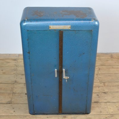 Superieur Industrial Iron Cabinet, 1950s