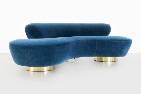 Marvelous Mohair Cloud Sofa By Vladimir Kagan For Directional 1970S Lamtechconsult Wood Chair Design Ideas Lamtechconsultcom