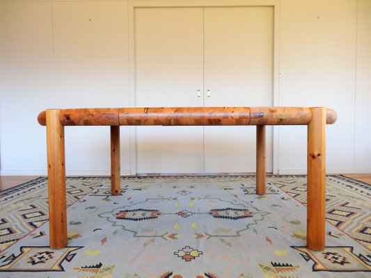 Danish Extendable Dining Table 4 Chairs Set By Rainer Daumiller For Hirtshals Sawmill 1960s