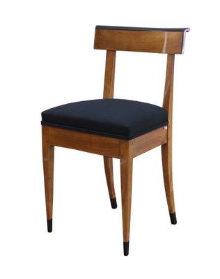 Biedermeier Stuhl Aus Massivem Kirschholz 1820er