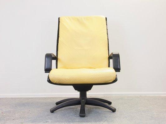 Poltrona Frau Porsche.Vintage Antropovarius Easy Chairs Ottoman By F A Porsche For Poltrona Frau