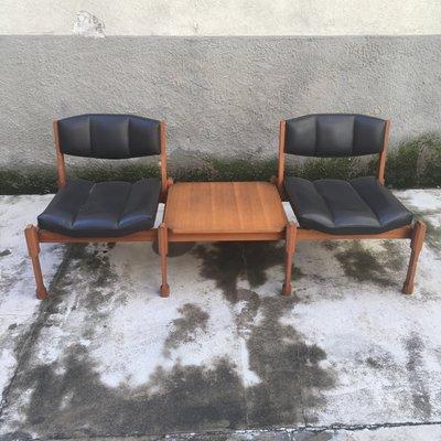 Pleasant Mid Century Italian 2 Seater Bench 1960S Spiritservingveterans Wood Chair Design Ideas Spiritservingveteransorg