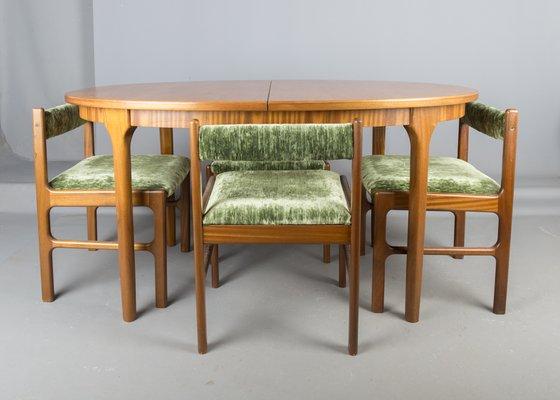 Tavolo e sedie da pranzo vintage di McIntosh, anni \'60