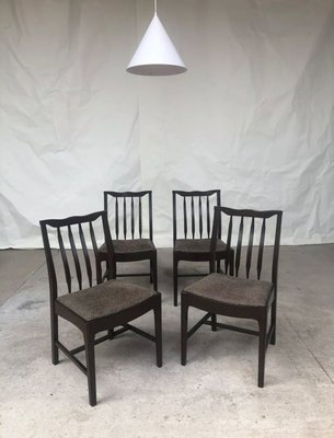 Vintage Danish Dining Chairs From Stag 1960s Set Of 4 For Sale At Pamono