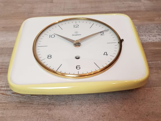 Ceramic Kitchen Wall Clock From
