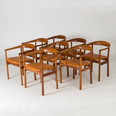 Mahogany Tokyo Dining Chairs By Carl Axel Acking For Nordiska Kompaniet 1960s Set Of 8