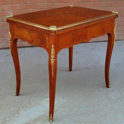 Table De Jeux Napoleon Iii Antique En Vente Sur Pamono