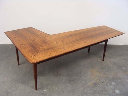 Marvelous Vintage Rosewood Boomerang Coffee Table Evergreenethics Interior Chair Design Evergreenethicsorg