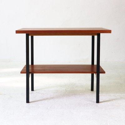 Tavolino Due Ripiani.Tavolino A Due Ripiani Vintage In Teak Anni 60
