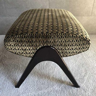 Marvelous Large Mid Century Italian Pouf 1950S Machost Co Dining Chair Design Ideas Machostcouk