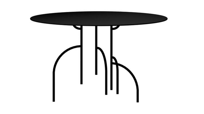 Runde Lagoas Tische von Filipe Ramos, 3er Set bei Pamono kaufen