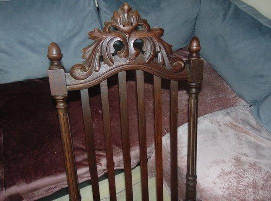 Vendita Sdraio In Legno.Sdraio Art Nouveau Antico In Legno In Vendita Su Pamono