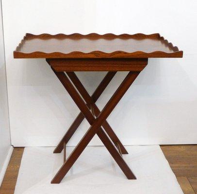 Vendita Tavolino Pieghevole.Tavolino Pieghevole Vintage In Legno