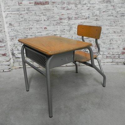 avec Industriel Bureau Enfant pour Chaise1960s WDEH2Ie9Y