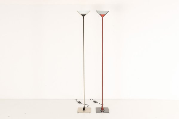 Lámpara Flosaños Papillona pie italiana de Tobia 70 modelo para Scarpa de NnOmw80v
