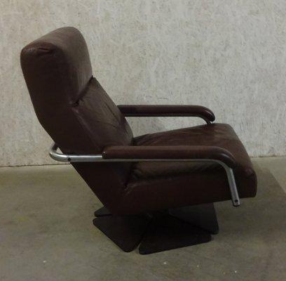 Jan Des Bouvrie Sidetable Wit.Model 4750 Swivel Lounge Chair By Jan Des Bouvrie For Gelderland 1995