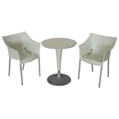 Kartell Tavoli Da Esterno.Tavolo Da Giardino Drno E Sedie Di Philippe Starck Per Kartell