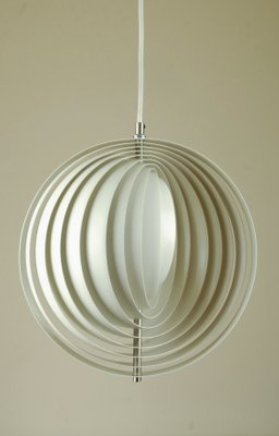 Moon Ceiling Lamp by Verner Panton for Louis Poulsen, 1970s