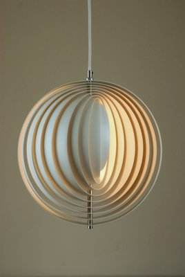 Moon Ceiling Lamp By Verner Panton For Louis Poulsen 1970s For Sale At Pamono
