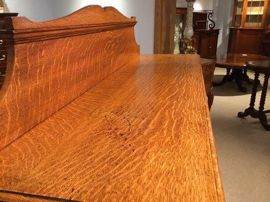 Antique Victorian Oak Open Bookcase For Sale At Pamono