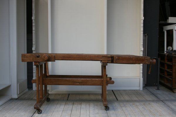 Magnificent Antique Carpenters Workbench Andrewgaddart Wooden Chair Designs For Living Room Andrewgaddartcom
