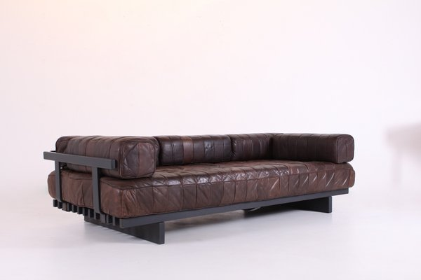Model Ds 80 Leather Patchwork Sofa From De Sede 1970s