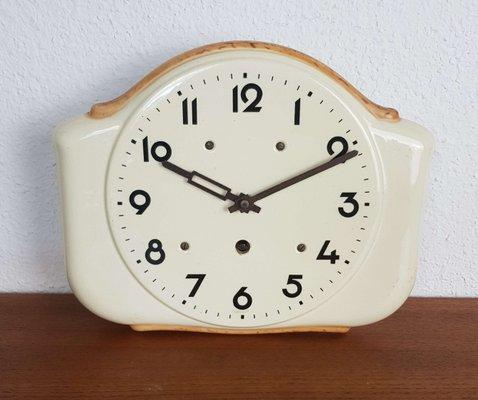 Art Deco Ceramic Kitchen Wall Clock