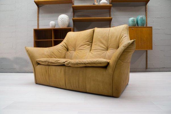 Denver 2-Seater Leather Sofa by Gerard Van Den Berg for Montis, 1970s