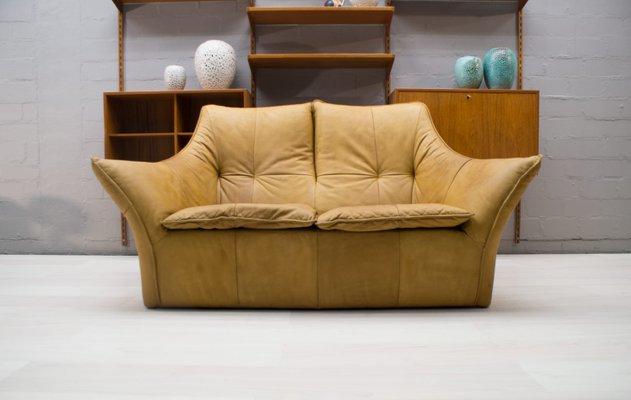 Peachy Denver 2 Seater Leather Sofa By Gerard Van Den Berg For Montis 1970S Dailytribune Chair Design For Home Dailytribuneorg