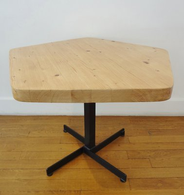 Incredible Vintage Pentagonal Side Table By Charlotte Perriand 1967 Ocoug Best Dining Table And Chair Ideas Images Ocougorg