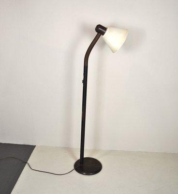 Swedish Pedestal Swivel Floor Lamp
