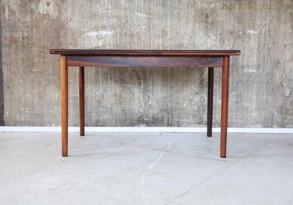 Mesa de comedor vintage de palisandro de Willy Sigh para Sigh & Søns  Møbelfabrik, años 60