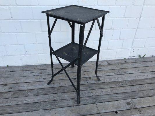 Gartentisch Eisen.Französischer Vintage Gartentisch Aus Eisen