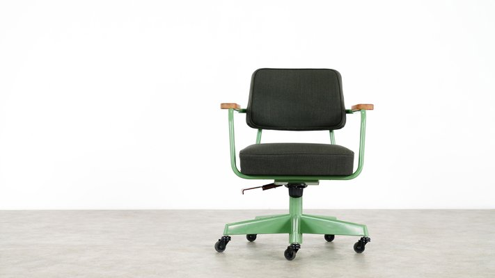 Surprising Swivel Desk Chair By Jean Prouve For Vitra 2007 Gmtry Best Dining Table And Chair Ideas Images Gmtryco