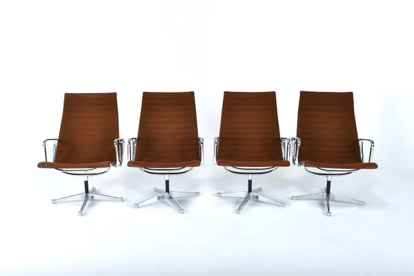Prime Ea 116 Chairs By Charles Ray Eames For Herman Miller 1960S Set Of 4 Unemploymentrelief Wooden Chair Designs For Living Room Unemploymentrelieforg
