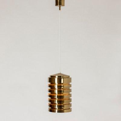 Brass Pendant Lamp by Hans Agne Jakobsson for Hans Agne Jakobsson AB Markaryd, 1960s