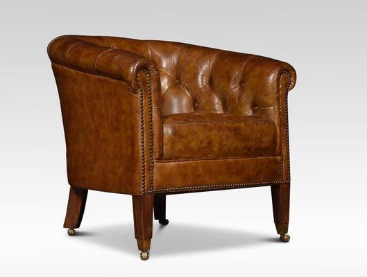 Fine Antique Leather Club Chair Cjindustries Chair Design For Home Cjindustriesco