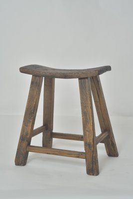 Swell Antique Chinese Wooden Saddle Stool Creativecarmelina Interior Chair Design Creativecarmelinacom