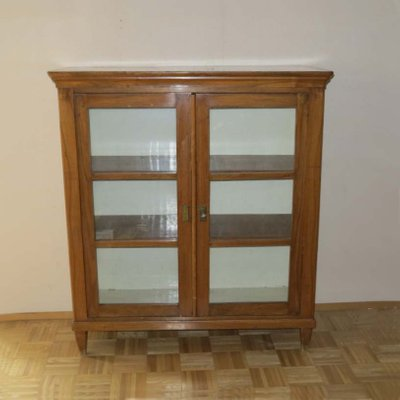 Antique Glass Cabinet For Sale At Pamono