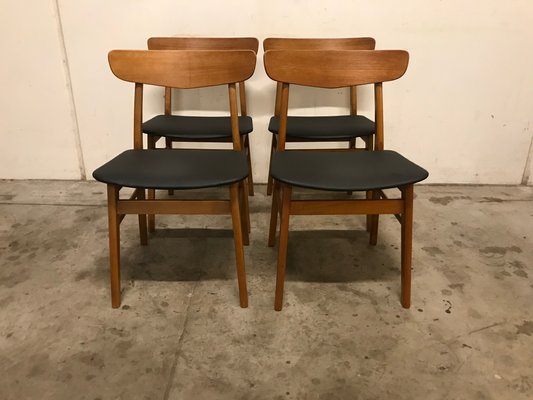 Incredible Danish Dining Chairs From Farstrup Mobler 1960S Set Of 4 Squirreltailoven Fun Painted Chair Ideas Images Squirreltailovenorg
