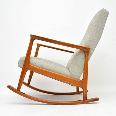 Admirable Danish Cherry Wood Rocking Chair 1960S Gmtry Best Dining Table And Chair Ideas Images Gmtryco