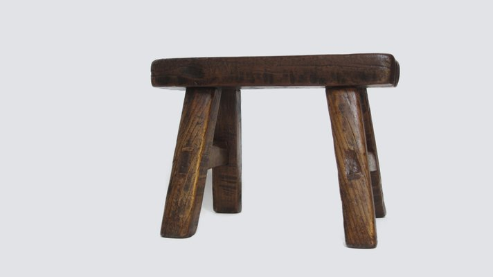 Groovy Low Antique Chinese Wooden Stool Creativecarmelina Interior Chair Design Creativecarmelinacom