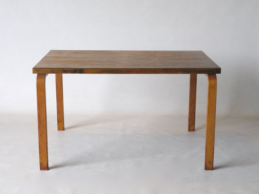 Birch and Plywood Dining Table by Alvar Aalto, 1930s