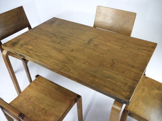 Superb Birch And Plywood Dining Table By Alvar Aalto 1930S Caraccident5 Cool Chair Designs And Ideas Caraccident5Info