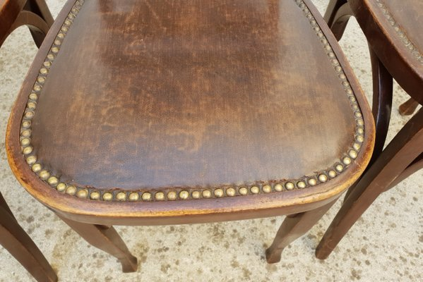 Enjoyable Antique Bistro Chairs From Baumann 1900S Set Of 4 Pdpeps Interior Chair Design Pdpepsorg