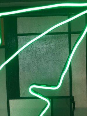 Light Green Oak Leaf Led Floor Lamp From Officinadiricerca 2000s