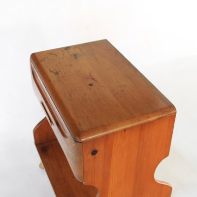 Tremendous Vintage Pine Sculptural Nightstand By Franklin Shockey 1950S Ibusinesslaw Wood Chair Design Ideas Ibusinesslaworg