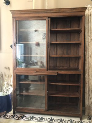 Vendita Librerie In Legno.Libreria In Legno Di Castagno Anni 40 In Vendita Su Pamono