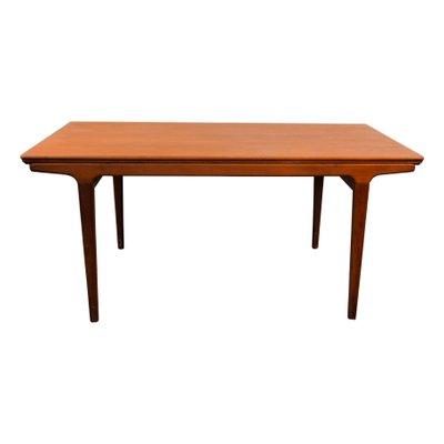 par Manger Vintage en Andersen à Uldum Salle Table de Johannes Rallonge Teck pour 60 à MøbelfabrikDanemarkannées EW29YeDHI